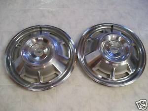 1967 Chevy Camaro Hubcaps set Of Two
