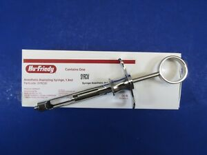 Dental Anesthetic Aspirating Syringe Syrcw Hu Friedy Original