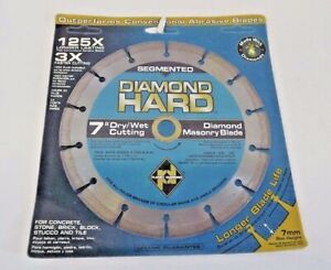 Planet Diamond 21307030 7 Segmented Diamond Masonry Saw Blade