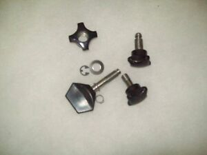 New Hobart Complete Knob Kit ss Carriage 1612 1712