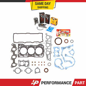 89 00 Pontiac Firefly 1 0l Gaskets Rings Bearings G10