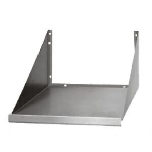 Microwave Oven Wall Shelf 24 x18 Stainless Steel