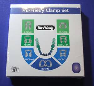 Ruber Dam Clamp Kit Assorted 00 2 7 8 8a 9 14a Rdcset7 Hu Friedy