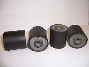 4 Plate Compactor Rammer Replacement Shock Mounts 2 X 2 1 8