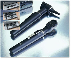 Adc Diagnostic Otoscope And Ophthalmoscope Set In Hard Case 5110n New