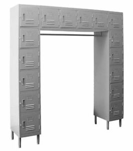 16 Door Employee Locker Premium Steel