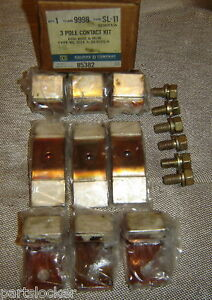 Square D 9998sl11 Contact Kit Size 5 Starter Contactor