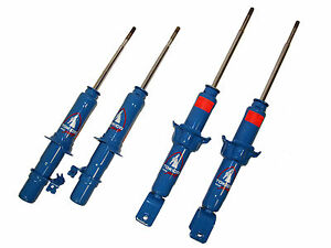 Tokico Hp Blue Shocks Struts Kit For 1989 1991 Honda Civic Crx Ef Hb Sedan