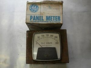 300 Volt Dc Panel Meter 0 300v With Case