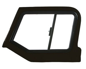 97 06 Jeep Wrangler Tj Lj Black Hard Upper Doors Fiberglass Sliding Windows