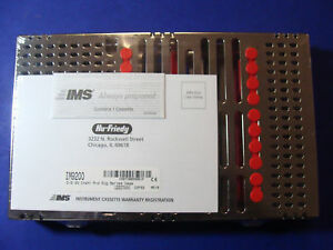 Dental Cassette 20 Instruments Im9200 Red Box Surgical Hu Friedy