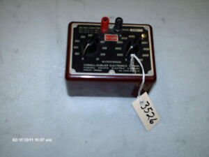 Cornell dubilier Decade Capacitor Cda2 600 Vdc 220 Vac