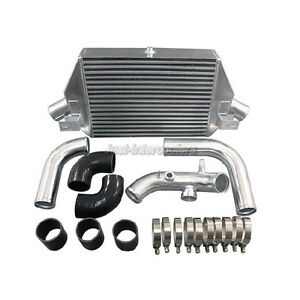 Cxracing Bolt On Aluminum Intercooler Upgraded Kit For Dodge Neon Srt 4 Black