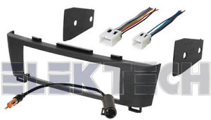 Radio Replacement Dash Kit W Wire Harness Antenna For 2000 2006 Nissan Sentra