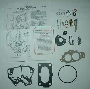1984 Carb Kit For Hitachi 2 Barrel On Nissan 2 0l 4 Cyl Engines New