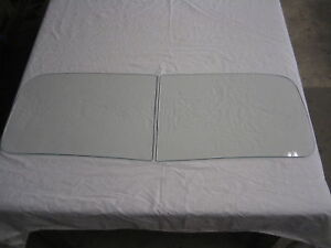 1937 1938 1939 Ford Truck Windshield Glass Clear New