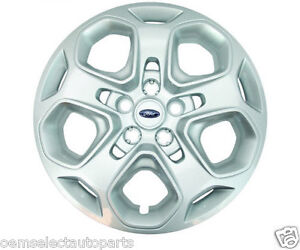 Oem New 2010 2012 Ford Fusion Full Wheel Cover 17 Hub Cap Sparkle Silver