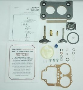 1971 76 Carb Kit Holley 2 Barrel Model 5200c Ford Mercury 2 0 2 3l Engines New
