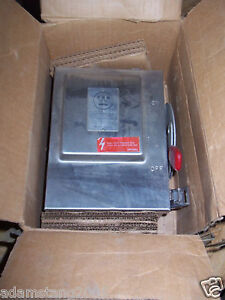 Westinghouse Safety Switch 30 Amp 240v Stainless Whu321
