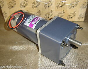 Spg S9d24k50bh Dc Geared Motor Gear 24v Electric New