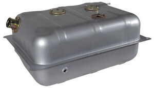 Universal Street Rod Steel Fuel Gas Tank W Hose 15 Gallon 23 X 17 X 10