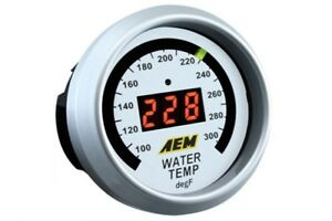 Aem Gauge Kit Digital Water Temp 100 To 300 f 30 4402