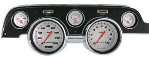 Classic Instruments Velocity White 1967 1968 Ford Mustang 5 Gauge Package Set