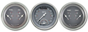 Sg Series 3 Gauge Set 3 3 8 Ultimate Speedometer Tach Combo W Curved Lenses