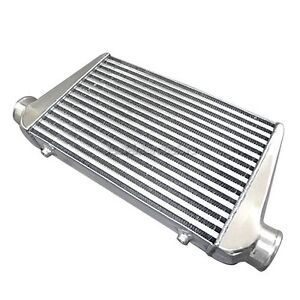 3 Inlet outlet Universal Tube fin Intercooler 25x11 75x3