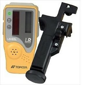 Topcon Ls 80l Laser Receiver Sensor Detector For Rl h4c With Bracket Holder 6