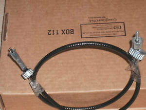 John Deere 4430 4440 4840 8430 Tachometer Cable New