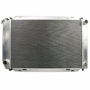 Cxracing 3 Rows Aluminum Radiator For 79 93 Ford Mustang Gt 5 0 V8