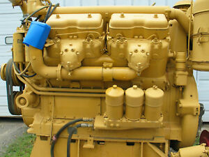 Caterpillar D375 Rebuilt Engine 250 Hrs 375 Hp Video