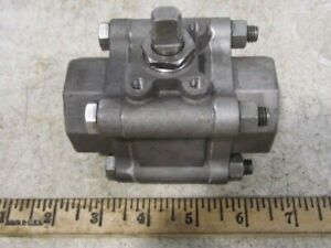 Watts 1 npt Ss Stainless Steel Ball Valve 1500wog New