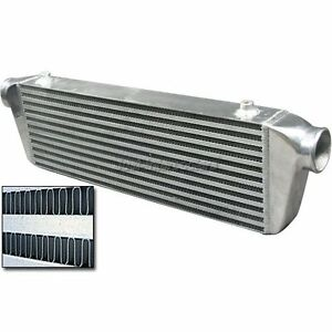 2 5 Inlet Outlet Bar And Plate Universal Intercooler 28 x7 x2 5