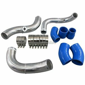 Front Mount Intercooler Piping Kit 2 5 Core For 94 01 Audi A4 B5