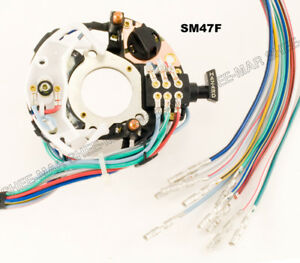 Sm47f Ford Truck Bronco Van Turn Signal Switch 73 74 75 76 77