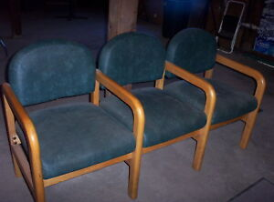 3 Seat Waiting Room Chair