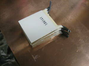 Qty 10 40 Mm Nord Rtv Sealed Peltier Thermoelectric