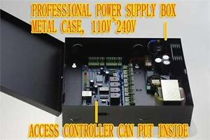 4 door Tcpip Rfid Security Access Control power Supply