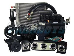 1965 1966 Mustang 289 Complete Ac Air Conditioning Heat Kit W Cable Controls