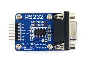 Rs 232 Board Rs232 To Ttl Transceiver Module Sp3232 Db9 Connector Uart Port