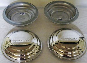 1941 Car 1941 1942 Pickup Truck Ford Logo Stainless Wheel Hubcap Set Of 4 Wheels