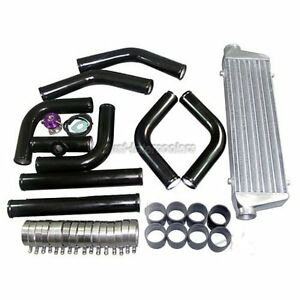 Turbo Intercooler Piping Kit Bov For Civic Del Sol Crx Fit
