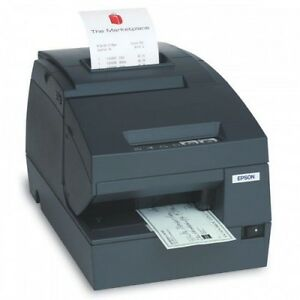 Epson Tm h6000iii Thermal Receipt Printer rs232 serial W power Supply