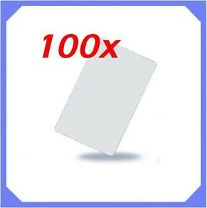 100pcs 125khz Rfid Proximity Cards Credit Card Size