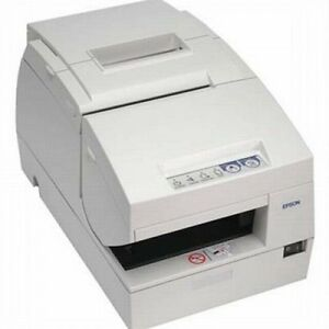 Epson Tm h6000ii W micr Endorser Receipt Printer Serial rs232 W power Supply