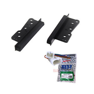 Radio Replacement Dash Mount Kit 2 Din Bracket W Harness For Scion Subaru Toyota