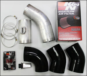 Pcm Of Nc 4 Inch Diy Tbss Intake W 4 Maf Sensor Washer Tank