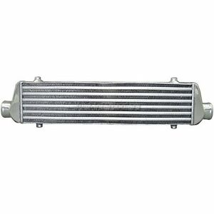 Cxracing Universal 27 5 Turbo Intercooler 2 Inlet Outlet For B16 B17 Civic